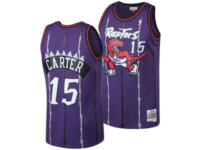 15100db79 Toronto Raptors Vince Carter Mitchell   Ness NBA Men s Hardwood Classic  Swingman Jersey