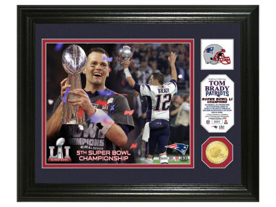 New England Patriots Tom Brady Photo Mint Bronze Event Coin