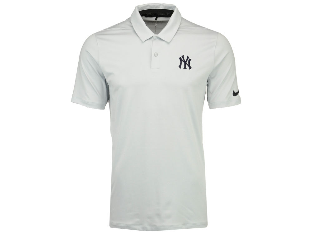 New York Yankees Nike Golf MLB Men s Mobility Control Stripe Polo ... 690e86d08ba