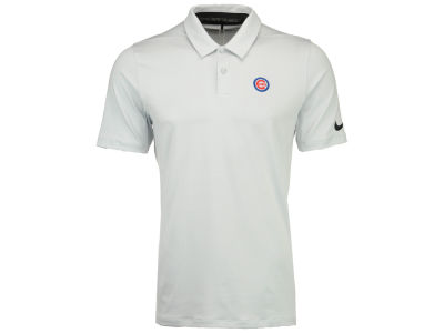 Chicago Cubs Nike Golf MLB Men's Mobility Control Stripe Polo