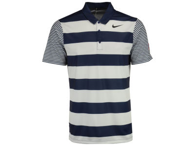 New York Yankees Nike Golf MLB Men's Breath Bold Stripe Polo
