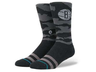 Brooklyn Nets Stance NBA Nightfall Crew Socks