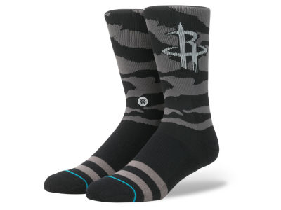 Houston Rockets Stance NBA Nightfall Crew Socks