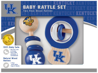Kentucky Wildcats Baby Rattle Set