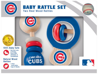 Chicago Cubs Baby Rattle Set