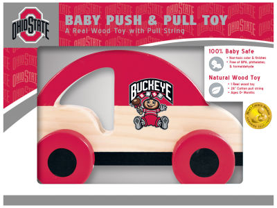 Ohio State Buckeyes Baby Push & Pull Toy