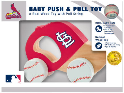 St. Louis Cardinals Baby Push & Pull Toy