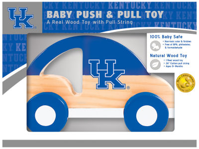 Kentucky Wildcats Baby Push & Pull Toy