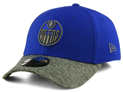Edmonton Oilers New Era NHL Shadow Tech Flex 39THIRTY Cap