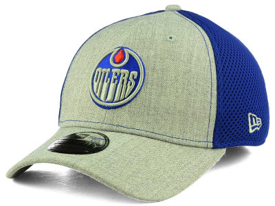 Edmonton Oilers New Era NHL Heather Neo Flex 39THIRTY Cap