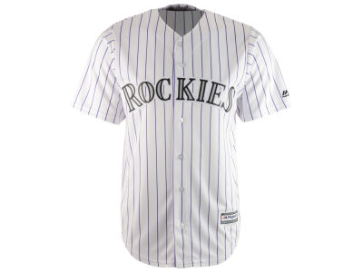 Colorado Rockies Majestic MLB Men's Blank Replica Cool Base Jersey