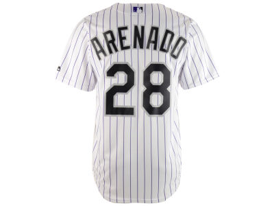 Colorado Rockies Nolan Arenado Majestic MLB Men's Player Replica Cool Base Jersey