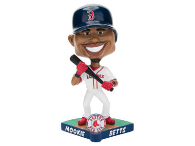 Boston Red Sox Mookie Betts Forever Collectibles Caricature Bobblehead