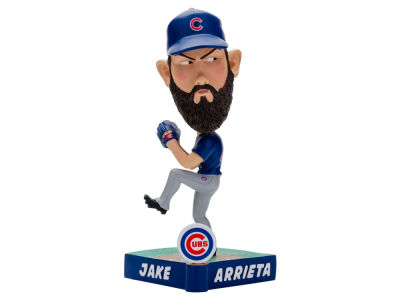 Chicago Cubs Jake Arrieta Forever Collectibles Caricature Bobblehead
