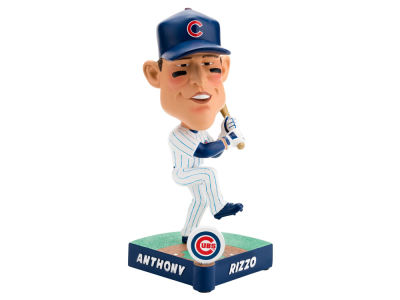 Chicago Cubs Anthony Rizzo Forever Collectibles Caricature Bobblehead