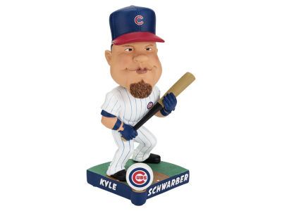 Chicago Cubs Kyle Schwarber Forever Collectibles Caricature Bobblehead