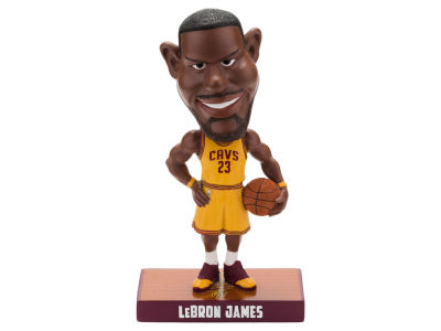 Cleveland Cavaliers LeBron James Forever Collectibles Caricature Bobblehead