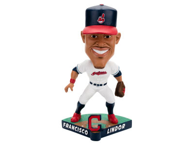 Cleveland Indians Francisco Lindor Forever Collectibles Caricature Bobblehead