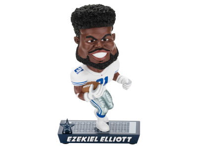 Dallas Cowboys Ezekiel Elliott Forever Collectibles Caricature Bobblehead