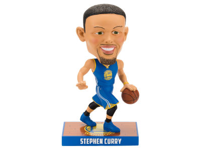 Golden State Warriors Stephen Curry Forever Collectibles Caricature Bobblehead