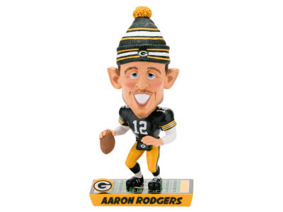 Green Bay Packers Aaron Rodgers Caricature Bobblehead