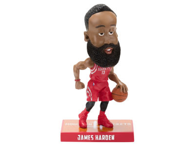 Houston Rockets James Harden Forever Collectibles Caricature Bobblehead