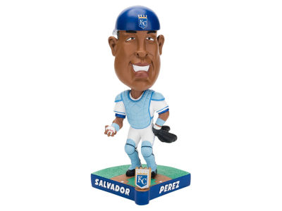 Kansas City Royals Salvador Pérez Forever Collectibles Caricature Bobblehead