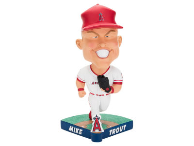 Los Angeles Angels Mike Trout Forever Collectibles Caricature Bobblehead