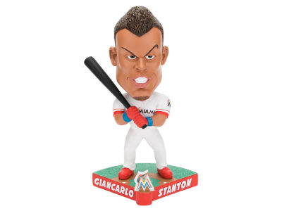 Miami Marlins Giancarlo Stanton Forever Collectibles Caricature Bobblehead