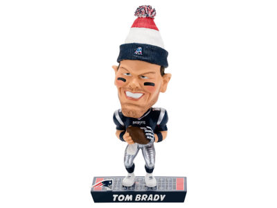 New England Patriots Tom Brady Forever Collectibles Caricature Bobblehead