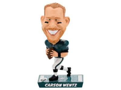 Philadelphia Eagles Carson Wentz Forever Collectibles Caricature Bobblehead