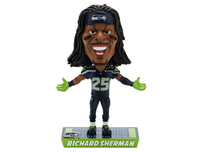 Seattle Seahawks Richard Sherman Caricature Bobblehead