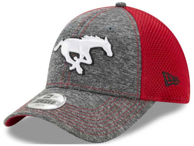 Calgary Stampeders New Era CFL Youth Shadow Turn 9FORTY Cap