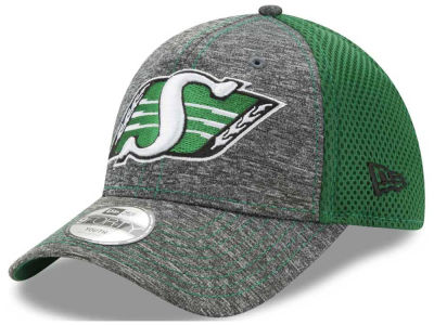 Saskatchewan Roughriders New Era CFL Youth Shadow Turn 9FORTY Cap
