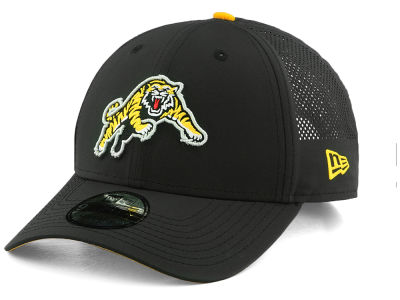 Hamilton Tiger-Cats New Era CFL Perf Pivot 9FORTY Cap