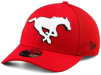 Calgary Stampeders New Era CFL Mega Team 39THIRTY Cap