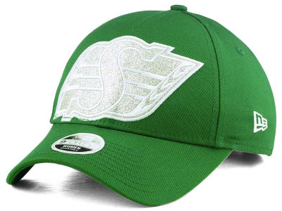 Saskatchewan Roughriders New Era CFL Women's Glitter Glam 9FORTY Adjustable Cap