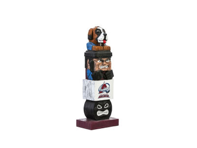Colorado Avalanche Evergreen Enterprises Tiki Totem