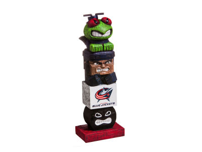 Columbus Blue Jackets Evergreen Enterprises Tiki Totem
