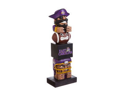 East Carolina Pirates Tiki Totem