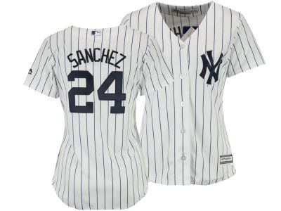 New York Yankees Gary Sanchez MLB Women's Cool Base Player Replica Jersey