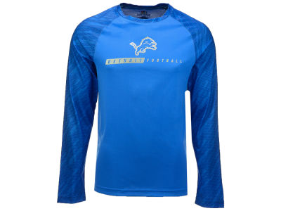 Detroit Lions Majestic NFL Men's League Rival Long Sleeve T-Shirt