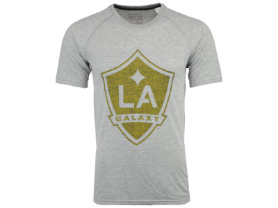 LA Galaxy adidas MLS Men's Fabrication T-Shirt