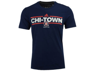 Chicago Fire adidas MLS Men's City Name Performance T-Shirt