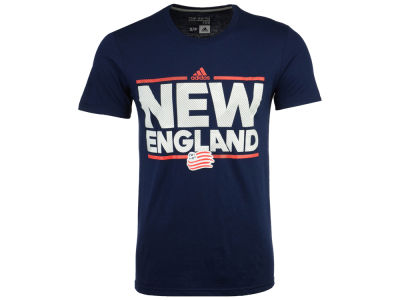 New England Revolution adidas MLS Men's City Name Performance T-Shirt