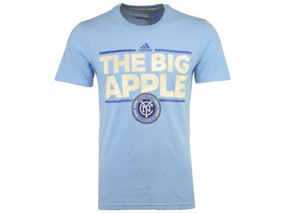 New York City FC adidas MLS Men's City Name Performance T-Shirt