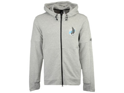 Minnesota United FC adidas MLS Men's Ultimate Worn Full Zip Hoodie