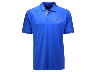 Detroit Lions Majestic NFL Men's Club Seat Polo
