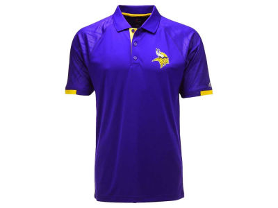 Minnesota Vikings Majestic NFL Men's Club Seat Polo