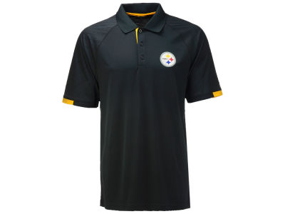 Pittsburgh Steelers Majestic NFL Men's Club Seat Polo